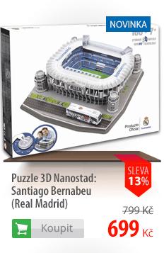 3D puzzle Nanostad Santiago Bernabeu