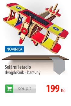 Solární letadlo dvojplošník