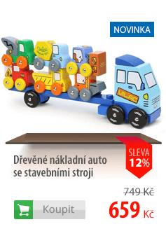 Dřevěné nákladní auto