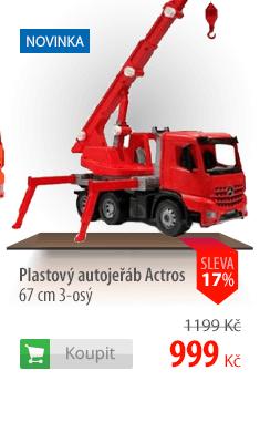 Plastový autojeřáb Actros