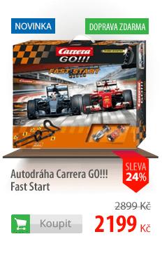 Autodráha Carrera GO!!! Fast Start