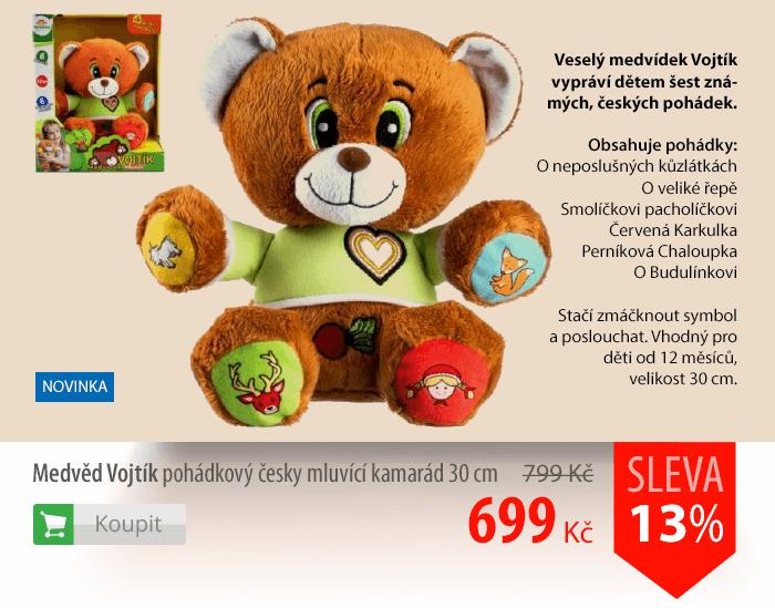 Medvěd Vojtík pohádkový český