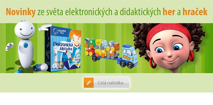 Elektronické a didaktické hry a hračky