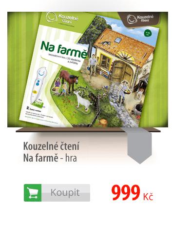 Kouzelné čtení Na farmě - hra