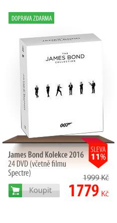 James Bond Kolekce 2016 24 DVD