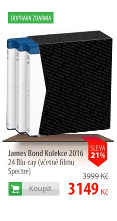 James Bond Kolekce 2016 24 Blu-ray