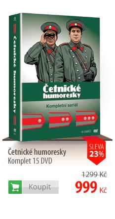 Četnické humoresky Komplet 15 DVD