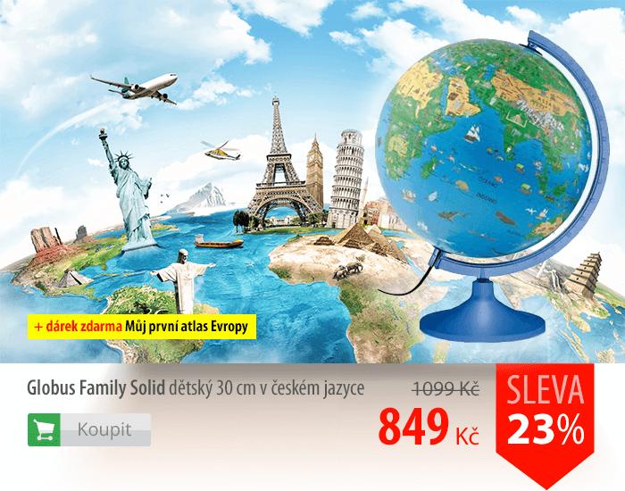 Globus Family Solid dětský 30 cm v českém jazyce