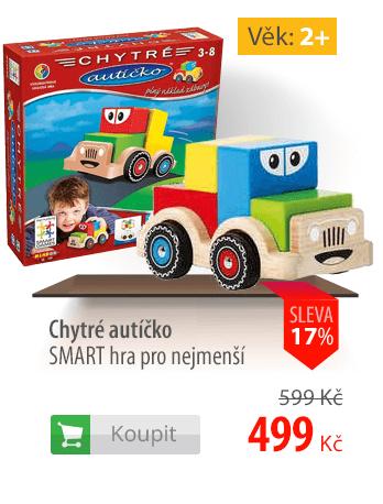 Chytré autíčko SMART hra pro nejmenší