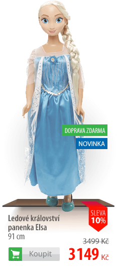 Ledové království panenka Elsa 91 cm