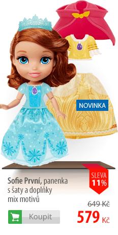 Sofie První panenka s šaty a doplňky
