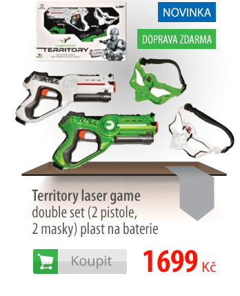 Territory laser game double set