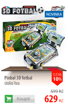 Pinbal 3D fotbal stolní hra