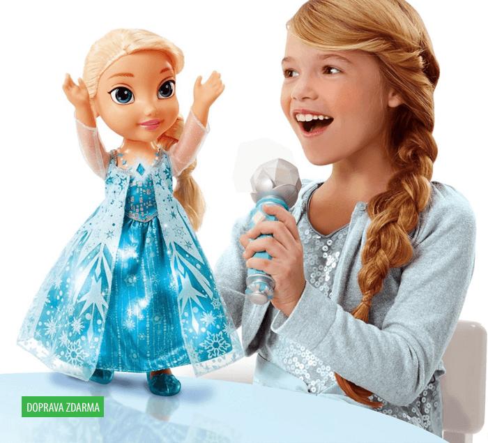 Panenka Ledové království - zpívající Elsa