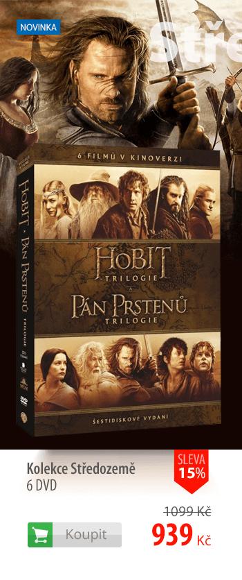 Kolekce Středozemě 6 DVD