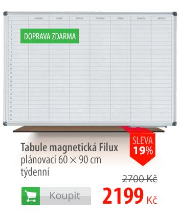 Tabule magnetická Filux