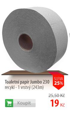 Toaletní papír Jumbo 230