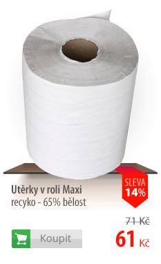 Utěrky v roli Maxi