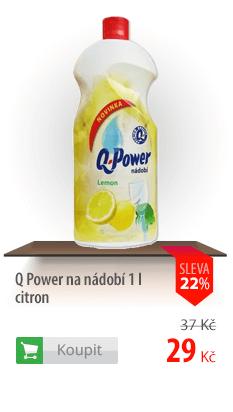 Q Power na nádobí