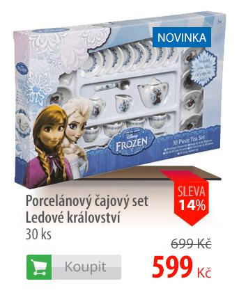 Porcelánový čajový set Ledové království