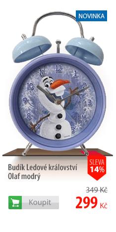 Budík Ledové království Olaf