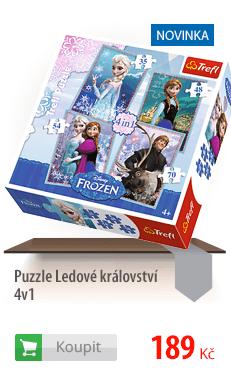 Puzzle Ledové království