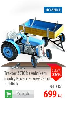 Traktor Zetor s valníkem Kovap