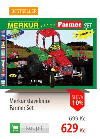 Merkur stavebnice Farmer Set