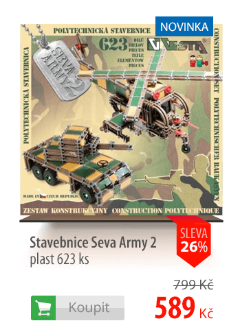Stavebnice Seva Army 2