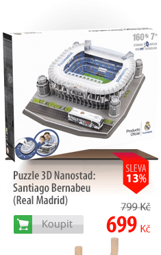 Puzzle 3D Nanostad Santiago Bernabeu