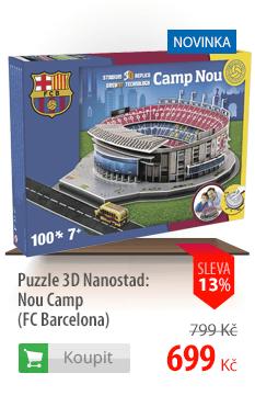Puzzle 3D Nanostad Nou Camp