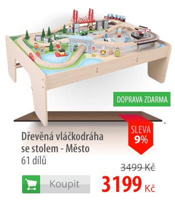 Dřevěná vláčkodráha Město