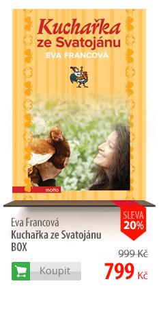 Eva Francová: Kuchařka ze Svatojánu BOX