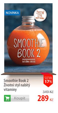 Smoothie Book 2 Životní styl nabitý vitamíny
