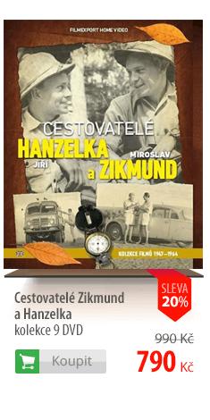 Cestovatelé Zikmund a Hanzelka kolekce 9 DVD