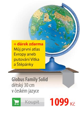 Globus Family Solid dětský 30cm v českém jazyce