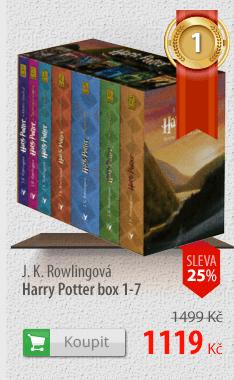 J.K.Rowlingová Harry Potter box 1-7
