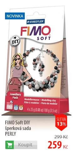 Fimo Soft DIY šperky Perly
