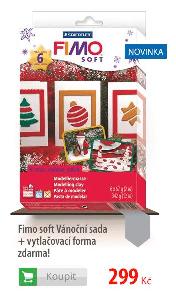 Fimo soft Vánoční sada