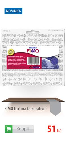 FIMO textura dekorativní