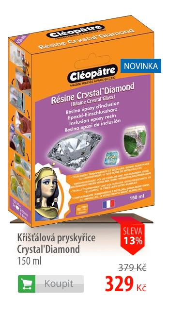 Křišťálová pryskyřice Crystal'Diamond