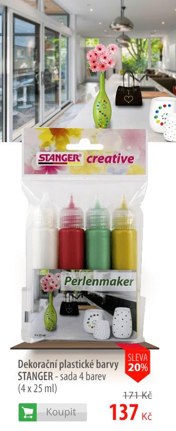 Dekorační plastické barvy Stanger