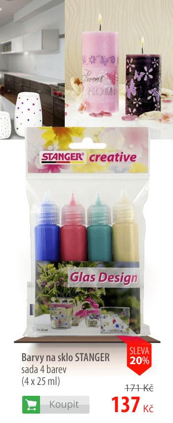 Barvy na sklo Stanger