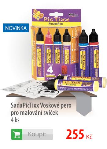 Sada PicTixx Voskové pero pro malování svíček