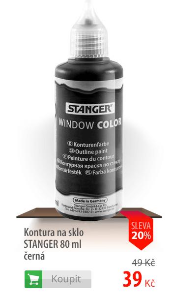Kontura na sklo Stanger