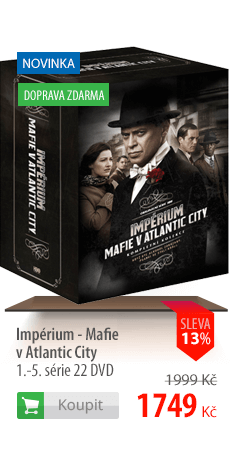 Impérium Mafie v Atlantic City DVD
