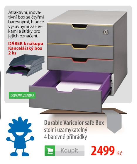 Zamykatelný box Durable Varicolor