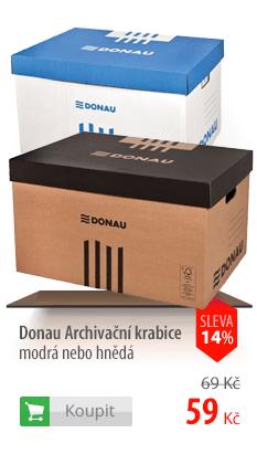 Donau archivační krabice