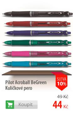 Kuličkové pero Pilot Acroball BeGreen