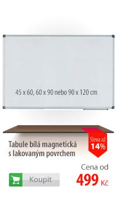 Tabule bílá magnetická
